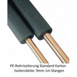 PE-Rohrisolierung 9mm Isolierstärke 1m Stangen Karton NMC Deutschland PE Rohrisolierung standardPE Rohrisolierung standard -10%