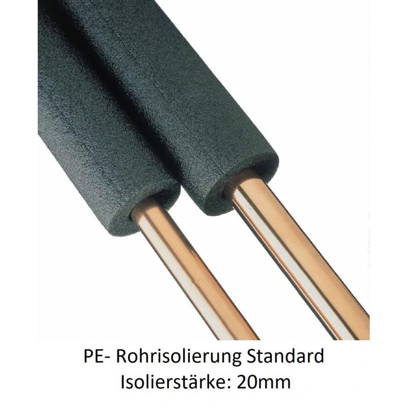 PE-Rohrisolierung 20mm Isolierstärke 1m Stangen verschiedene Größen NMC Deutschland Isolierung und ZubehörIsolierung und Zube...
