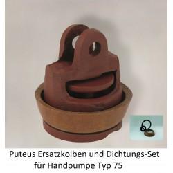 Puteus Ersatzkolben und Dichtungs-Set für Handpumpe Typ 75 Puteus Handpumpen, Schlauch + ZubehörHandpumpen, Schlauch + Zubehö...