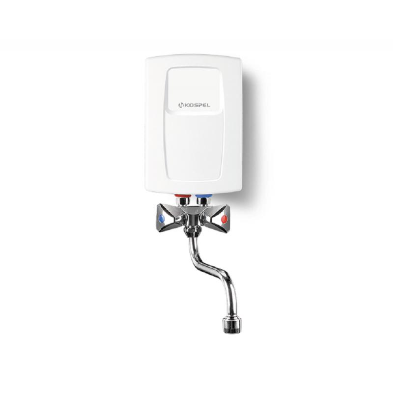 Durchlauferhitzer mit Niederdruckarmatur Waschbecken 3,5 bis 5,5 KW Kospel Kleindurchlauferhitzer 230VKleindurchlauferhitzer ...