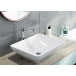 Einloch-Waschbeckenarmatur mit erhöhtem Fuß, beweglicher Aerator Serie: Jasmin Deante WaschtischWaschtisch -19%