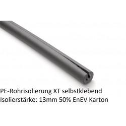 PE Rohrisolierung XT 13mm Isolierstärke 50% EnEV selbstklebend 1m Stangen Karton NMC Deutschland Isolierung und ZubehörIsolie...