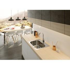 Einloch Spülenarmatur U- Auslauf Serie: Aster Deante Küche