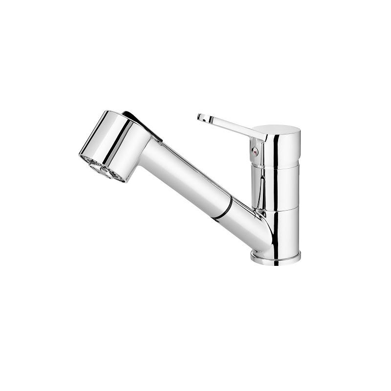 Spülenarmatur mit ausziehbarem Auslauf Serie: Narcyz Deante Einhebel-ArmaturenEinhebel-Armaturen -19%