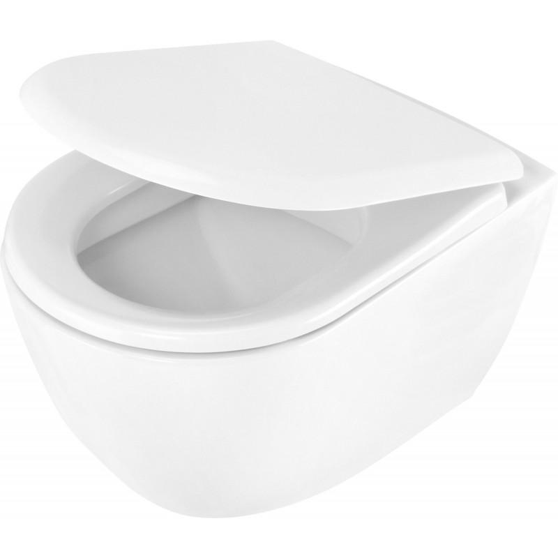 Toilettenschüssel mit Deckel absenkautomatik Peonia Deante Badkeramik