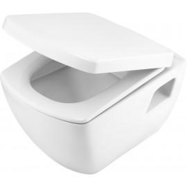 Toilettenschüssel mit Deckel absenkautomatik Anemon Deante ToilettenschüsselToilettenschüssel -19%