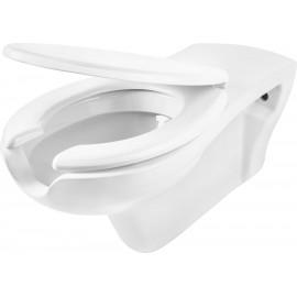 barierefreie Toilettenschüssel mit Deckel absenkautomatik Vital Deante Badkeramik