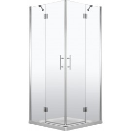 90cmx90cm Duschkabine quadratisch, Glas transparent Abelia Deante Duschkabinen/ -wannen