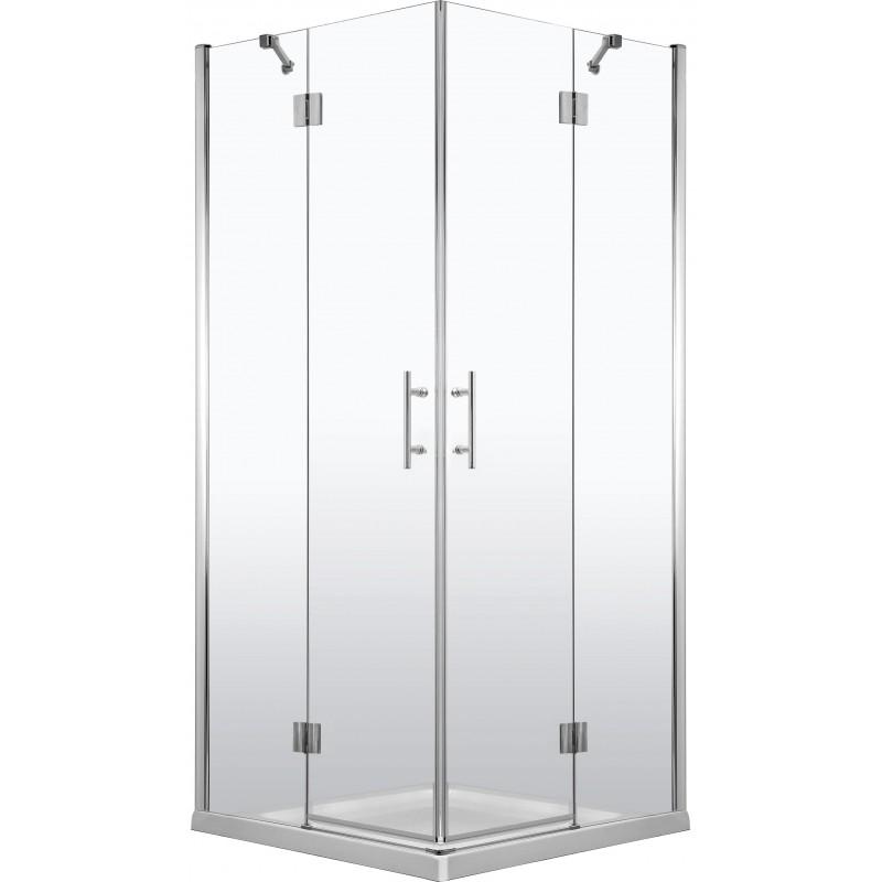 90cmx90cm Duschkabine quadratisch, Glas transparent Abelia Deante Duschkabinen DuschwannenDuschkabinen Duschwannen -10%