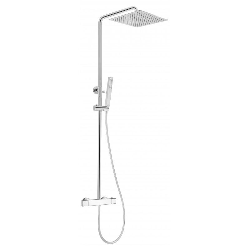 Duschsystem mit Thermostatarmatur Azalia Deante DuschenDuschen