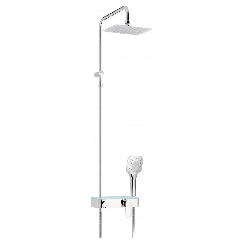 Duschsystem mit Mischarmatur Lobelia Deante DuschenDuschen