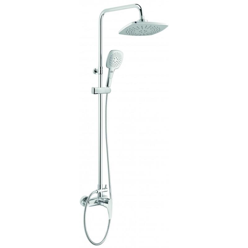 Duschsystem mit Mischarmatur Peonia Deante DuschenDuschen