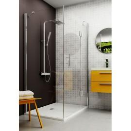 Duschsystem mit Thermostatarmatur Abelia Deante DuschsystemeDuschsysteme