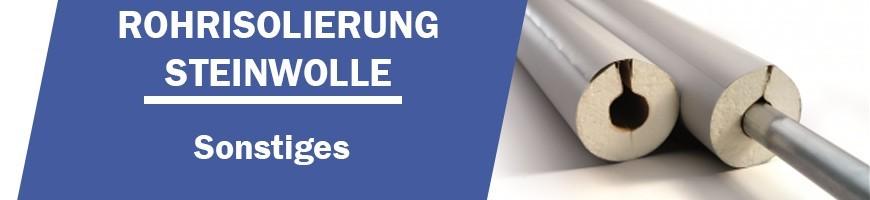 Steinwolle- Alu Isolierschale