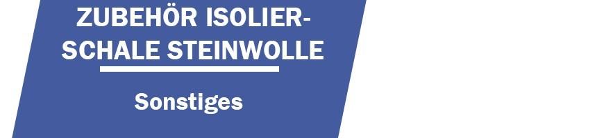 Zubehör Isolierschale Steinwolle