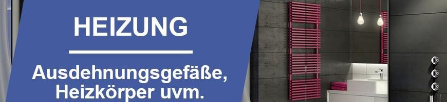 Heizung | Ausdehnungsgefäße und mehr! Jetzt online bestellen!